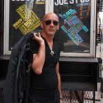 Simon Outside of Joe's Pub before soundcheck
