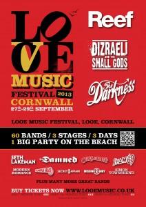 Looe Music Festival Cornwall 2013