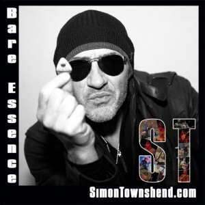 "Simon Townshend single ""Bare Essence"""