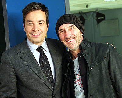 Jimmy Fallon - Simon Townshend March 2013