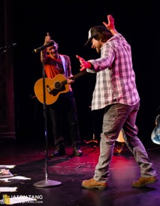 2014.04.23- Simon Townshend, Eddie Vedder @ The Triple Door, Sea