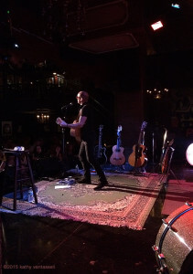 On Stage at The Cutting Room, NYC