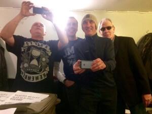 backstage selfie